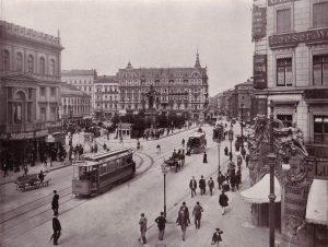 Der Alexanderplatz mit der Berolina um 1900