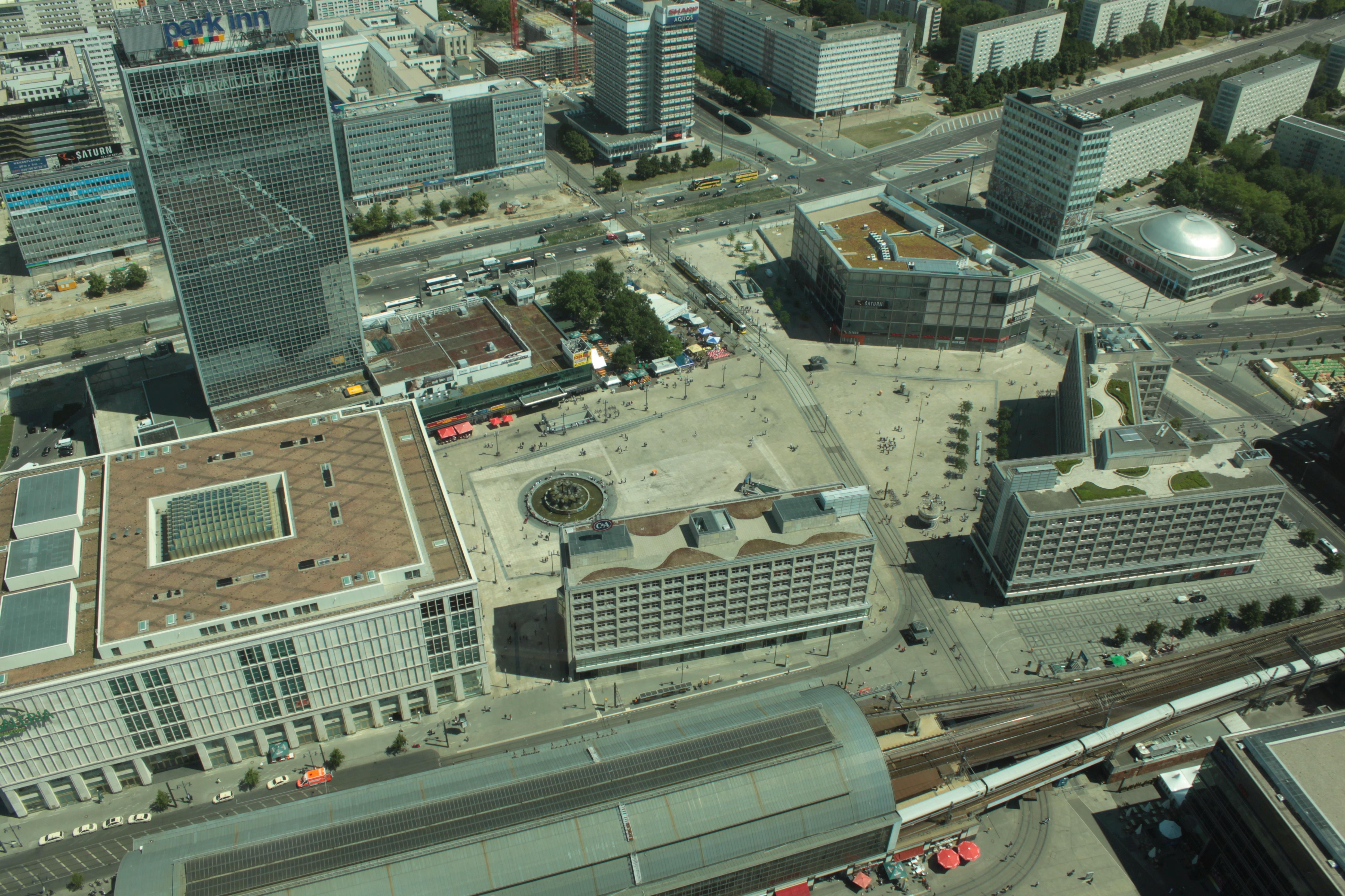 Alexanderplatz – 2011 – von oben
