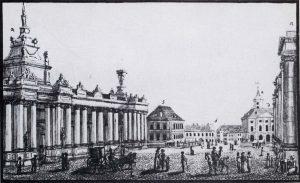 Der Ochsenplatz um 1784