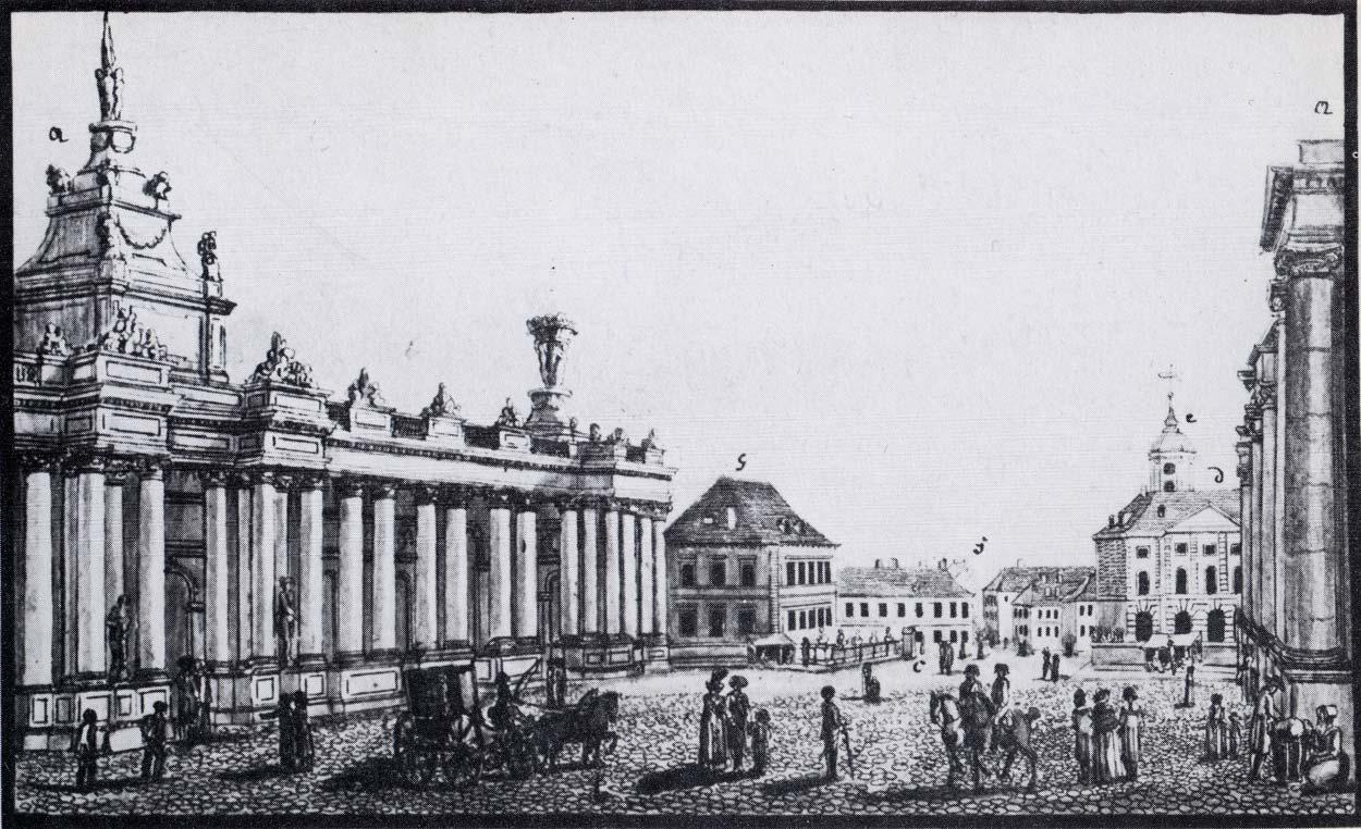 Alexanderplatz – 1784 (ca.) – Ochsenplatz