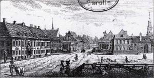 Der Ochsenplatz um 1796