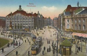 Der Alexanderplatz um 1905