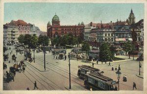 Der Alexanderplatz um 1908
