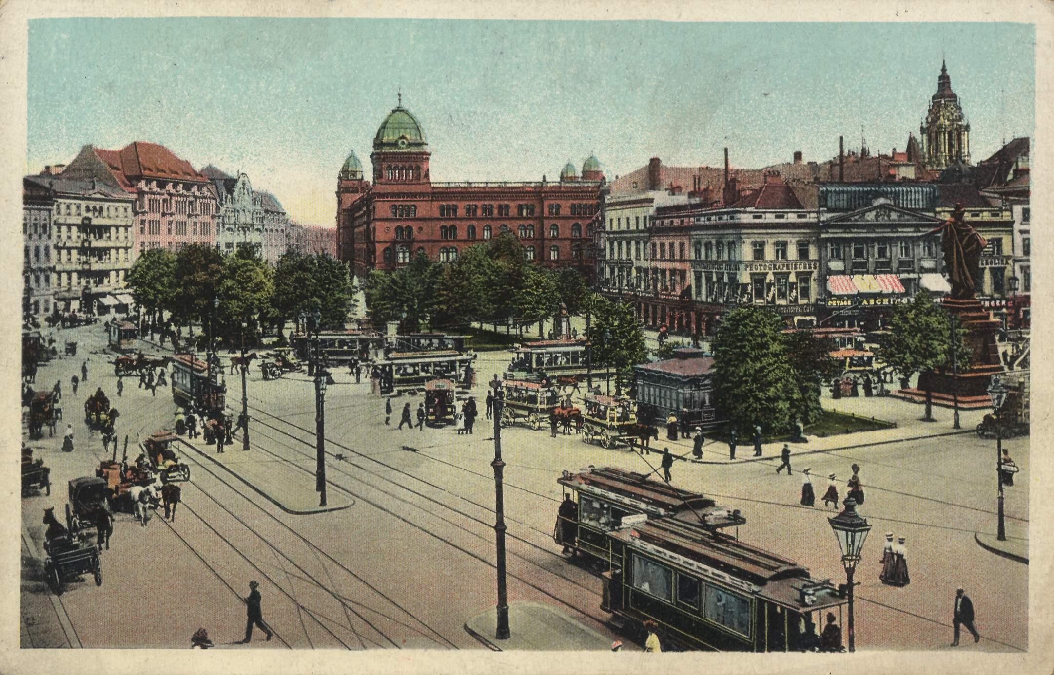 Alexanderplatz – 1908 (ca.)
