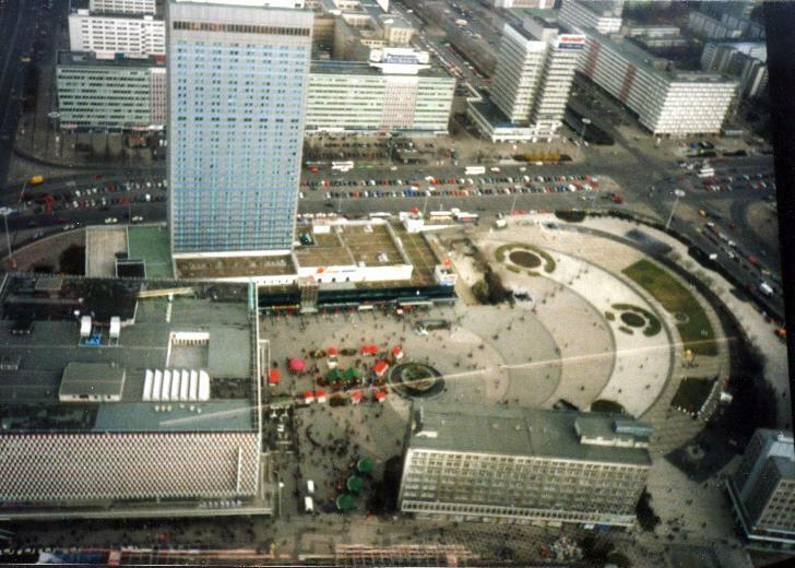 Alexanderplatz – 1997 – von oben