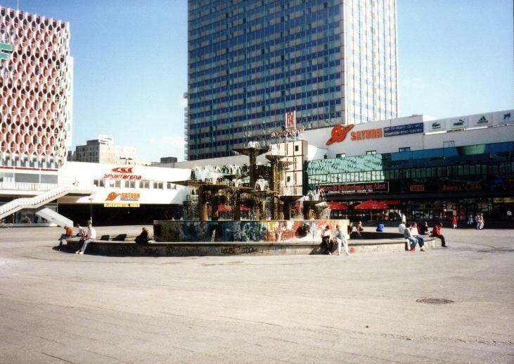 Alexanderplatz – 1997 – Brunnen der Völkerfreundschaft