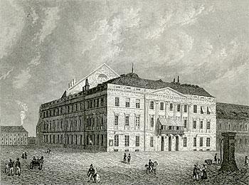 Alexanderplatz – 19. Jahrhundert – Königsstädtisches Theater