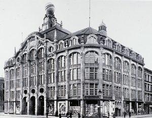 Das Kaufhaus Hermann Tietz im Jahre 1911