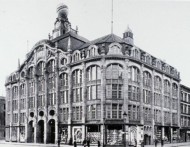 Alexanderplatz – 1911 – Kaufhaus Hermann Tietz