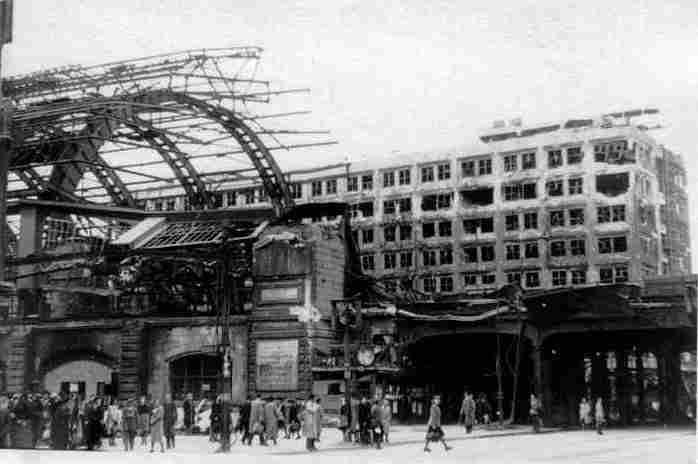 Alexanderplatz – 1945 – Bahnhof Alexanderplatz