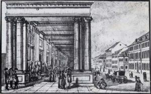 Königskolonnaden 1784