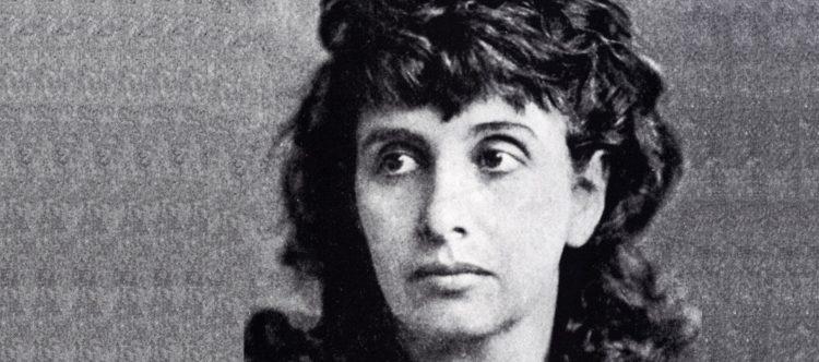 Porträt Hedwig Dohms um 1870