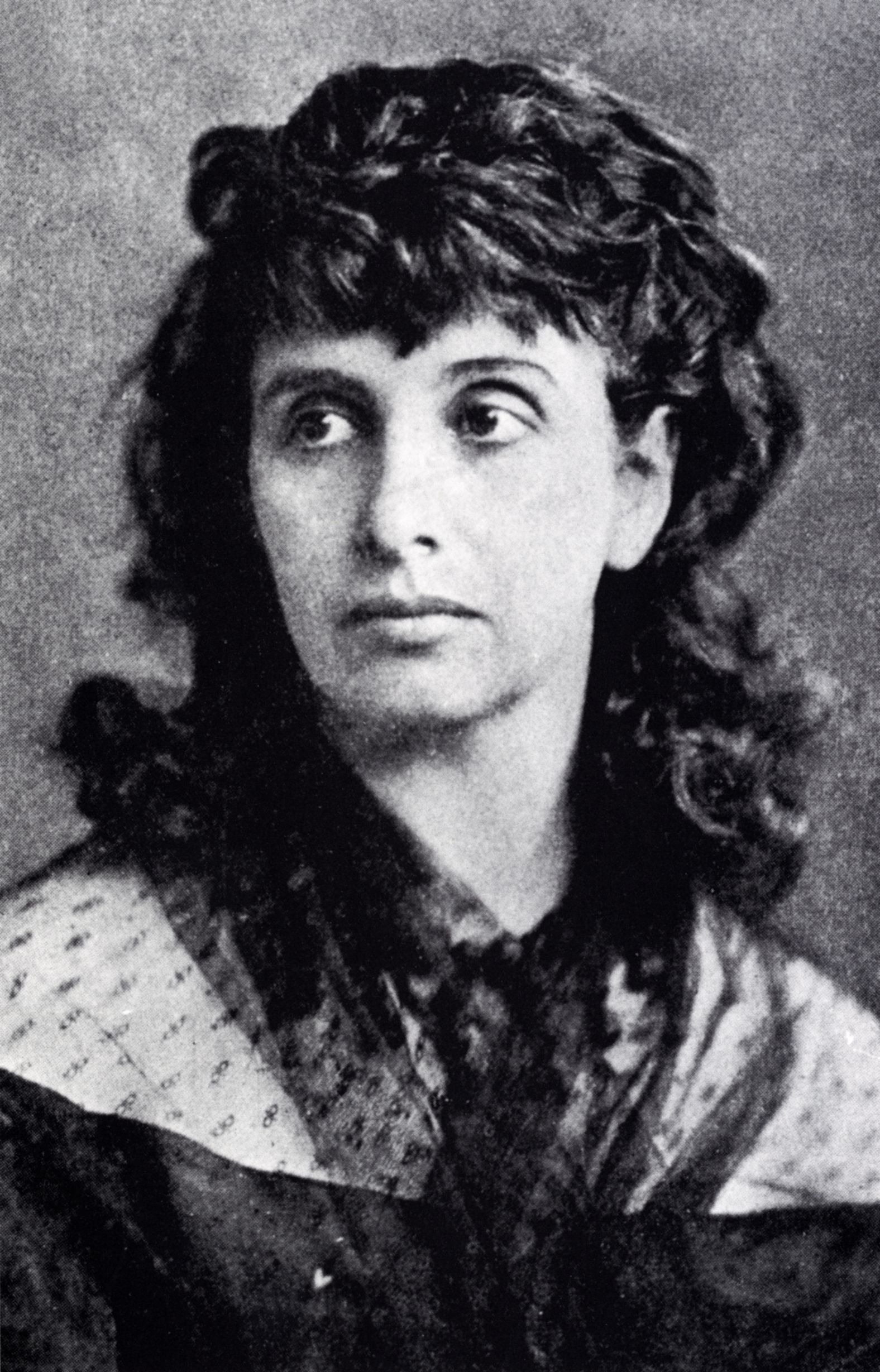 Hedwig Dohm – 1870 (ca.) – Porträt