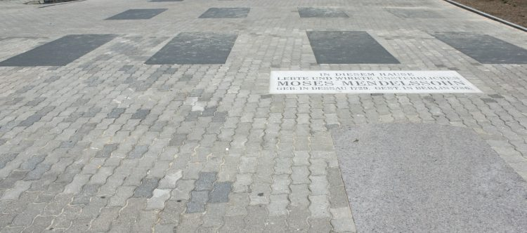 Denkmal Moses Mendelssohn