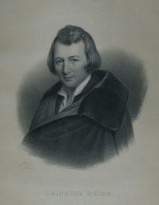 Heinrich Heine - Bildnis von Julius Giese