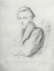 Heinrich Heine - Porträt von Wilhelm Hensel