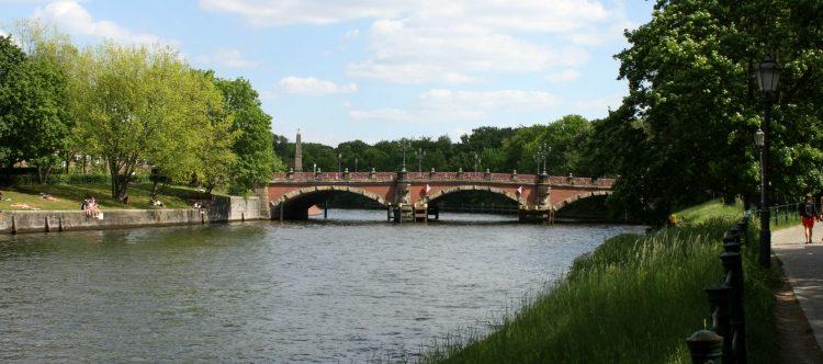 Die Lutherbrücke (Banner)