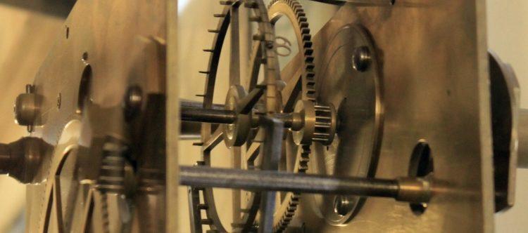 Das Uhrwerk der Akademieuhr