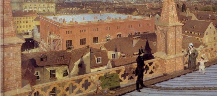 Bauakademie - Gemälde von Eduard Gärtner - 1834 (Ausschnitt)