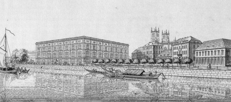 Bauakademie (geplant) von K. F. Schinkel - 1831
