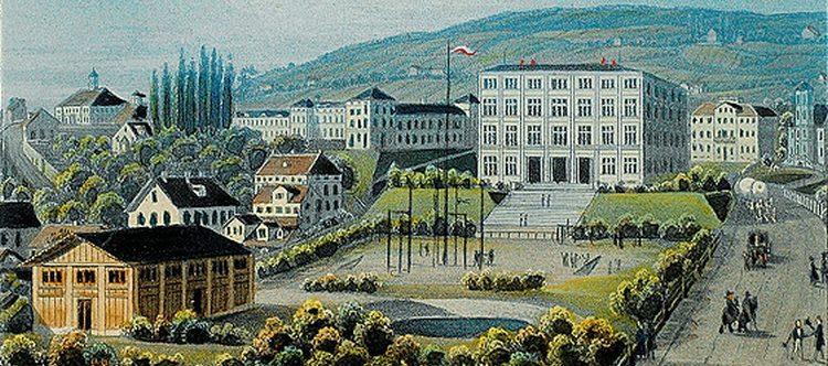 Die Kantonsschule in Zürich im 19. Jahrhundert