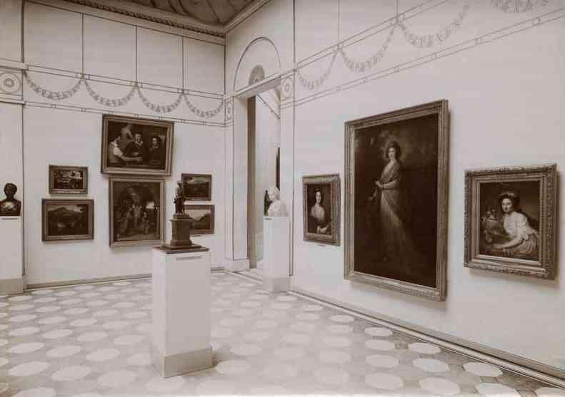 Henriette Herz – 1908 – Ausstellung der Nationgalerie