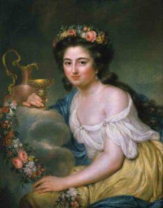 Porträt der Henriette Herz von Anna Dorothea Therbusch, 1778