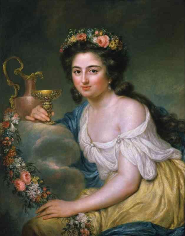 Henriette Herz – 1778 – Porträt von Anna Dorothea Therbusch