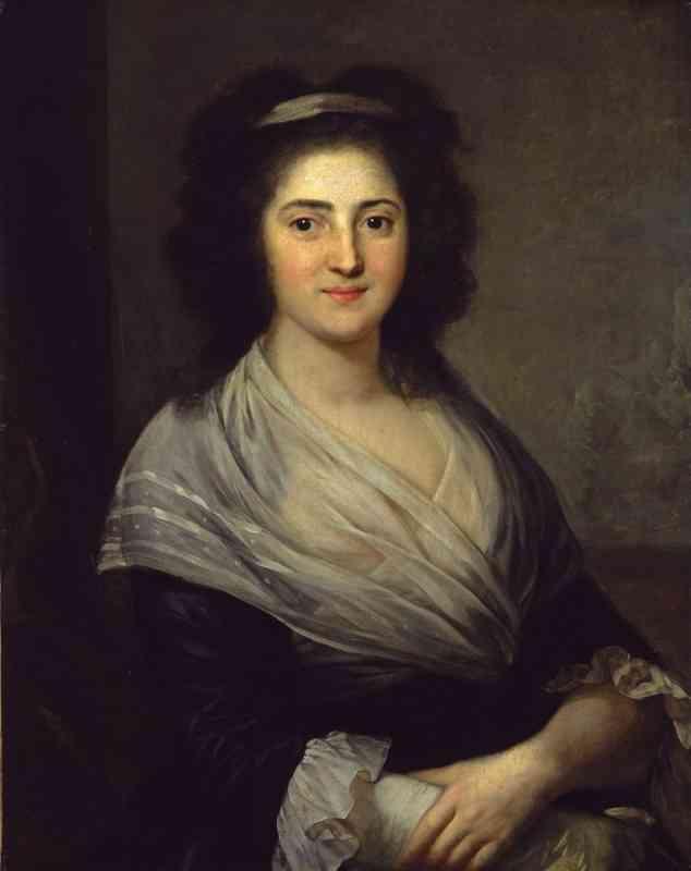 Henriette Herz – 1792 – Porträt von Anton Graff