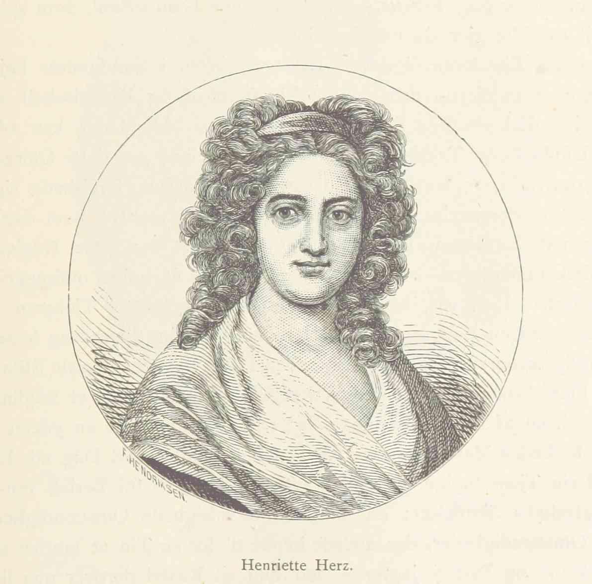 Henriette Herz – Vignette