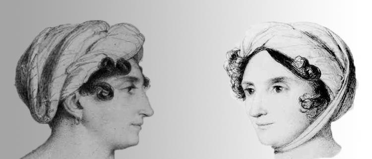 Henriette Herz, gezeichnet von Wilhelm Hensel, 1823