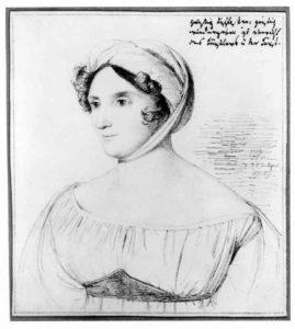 Henriette Herz von Wilhelm Hensel, 1823