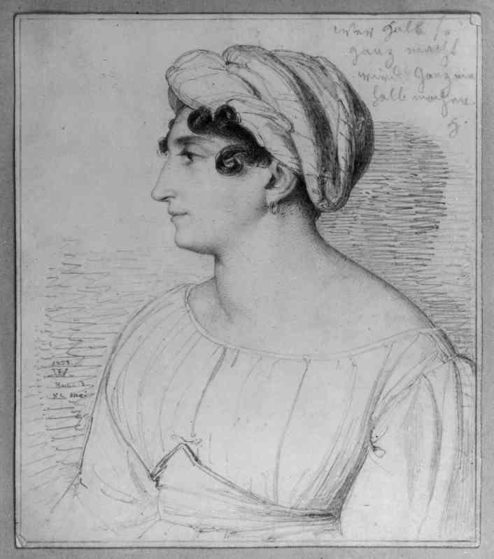 Henriette Herz – 1823 – Porträt von Wilhelm Hensel