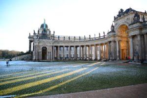 Die Communs am Neuen Palais in Potsdam (2016)