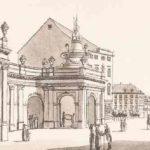 Die Spittelbrücke und die Leipziger Straße um 1778 (Banner)