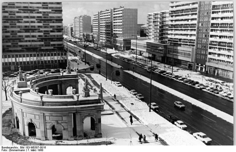 Spittelbrücke & Spittelkolonnaden – 1980