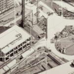 """Das Fliesenbild """"Der Alexanderplatz im Herbst 1968"""""""