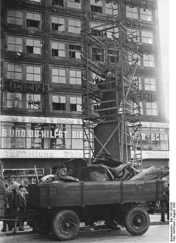 Berolina – 1942 – Abtragung