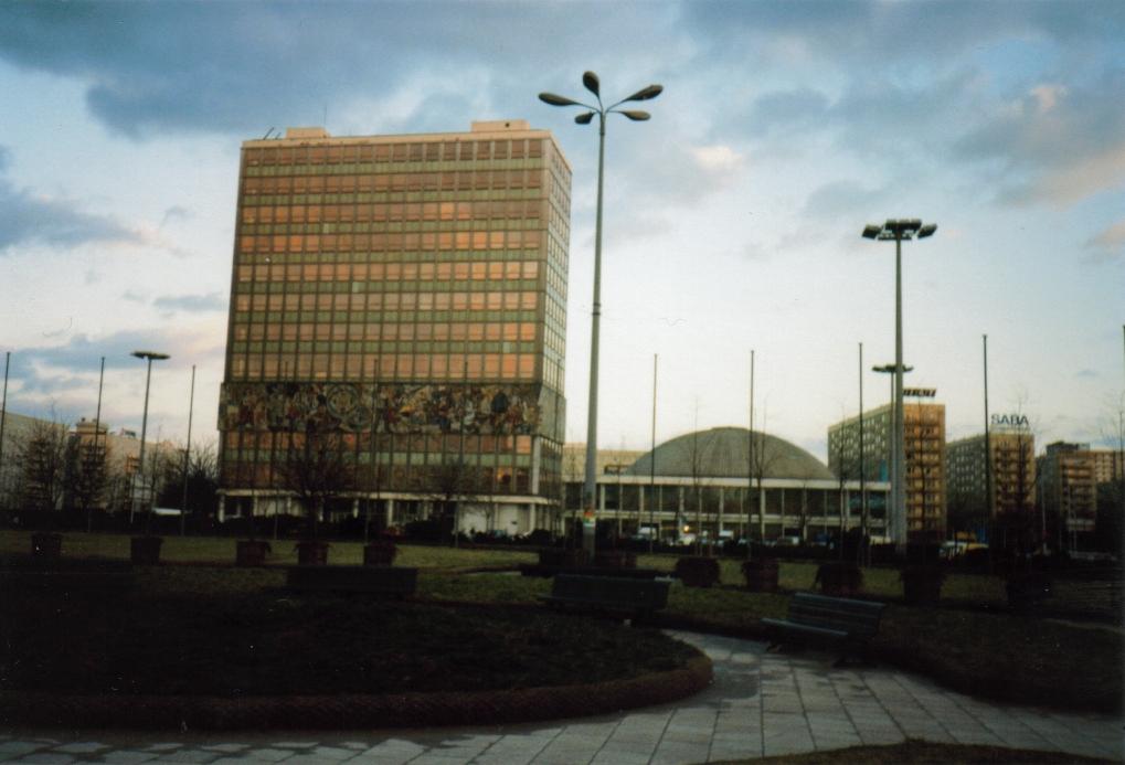Alexanderplatz – 1999 – Haus des Lehrers