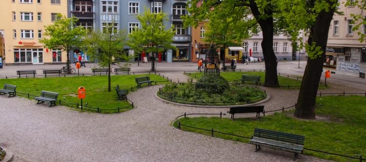 Spandauer Reformationsplatz 2010 (Banner)