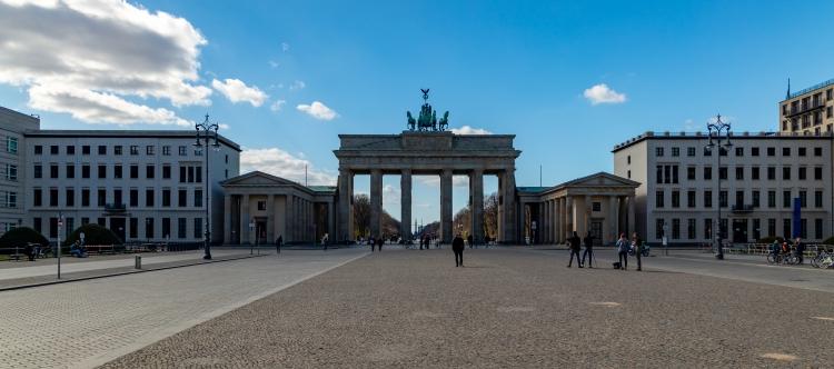 Brandenburger Tor - 2020-04-04 (Banner)