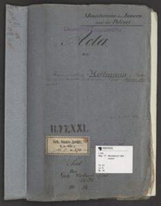 E. T. A. Hoffmann - 1822 - Akte zum Fall 'Meister Floh'
