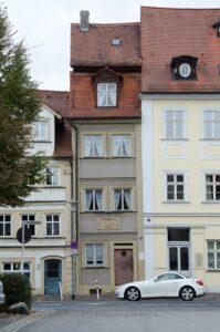 Wohnhaus von E. T. A. Hoffmann in Bamberg, Schillerplatz 26, 2015