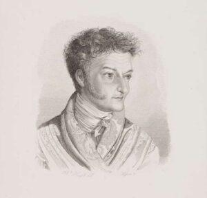 E. T. A. Hoffmann - Porträt von Wilhelm Hensel
