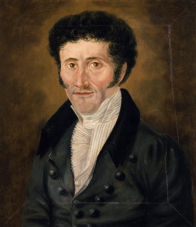 E. T. A. Hoffmann – unbekannter Zeitpunkt – Porträt von einem unbekannten Maler