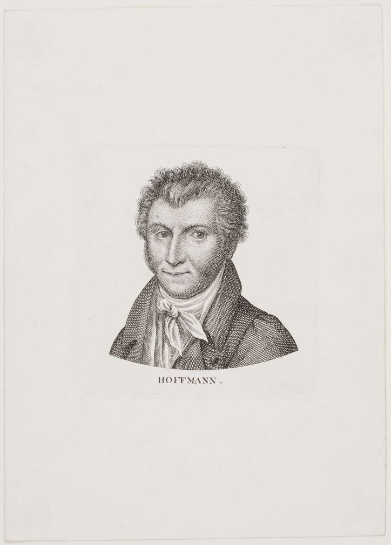 E. T. A. Hoffmann – unbekannter Zeitpunkt – Porträt von Ernst Ludwig Riepenhausen