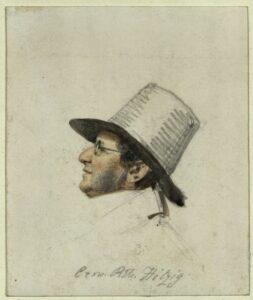 Julius Eduard Hitzig von Franz Krüger