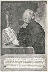 Johann Esaias Silberschlag - 1791 (vor) - Stich von Johann Conrad Krüger