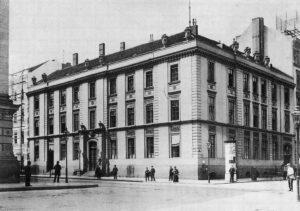 Das Französische Waisenhaus in Berlin im Jahre 1874