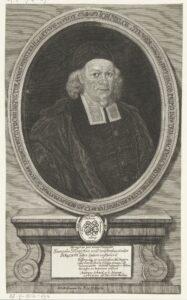 Porträt von Johann Melchior Stenger